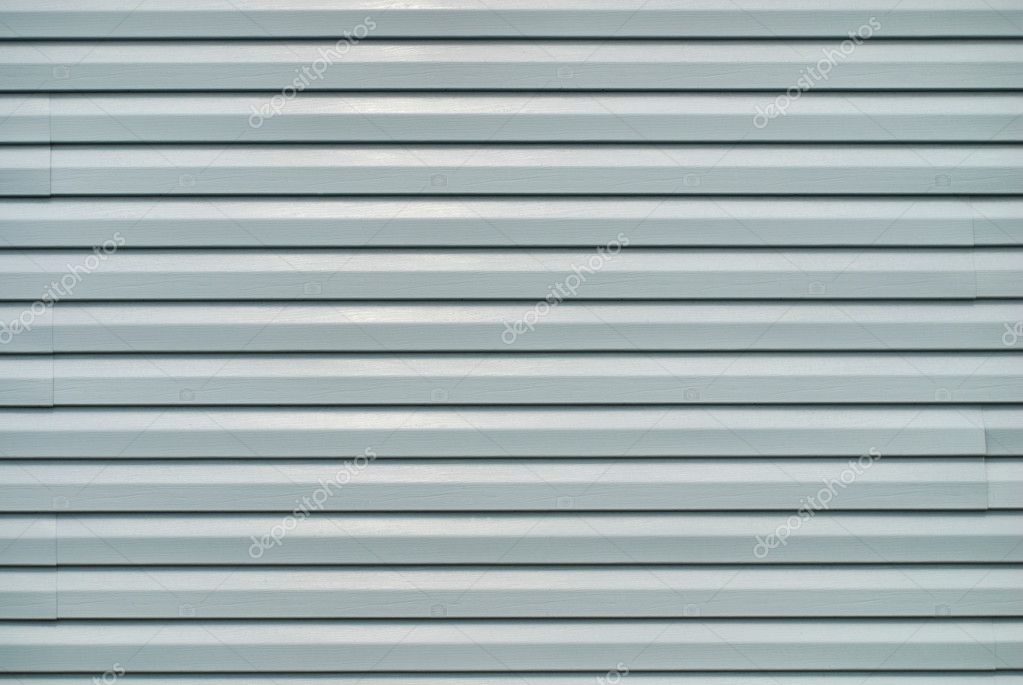 Vinyl siding on the wall — Stock Photo #2622580