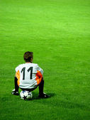 Youth Soccer Player — Stock Photo