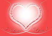 Abstract heart illustration — Stock Photo