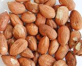 Hazelnut background — Stock Photo