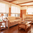 Interior living design - Foto Stock