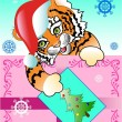 Tiger New Year — Stock Vector