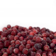 Foto Stock: Frozen cranberry