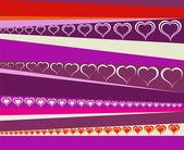 Valentine's texture — Stock Photo