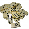 Dominoes - Stock Photo