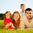 happyfamily — Stockfoto