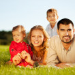 Happy family - Stock fotografie