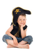 Portrait of a pirate — Stock Photo