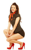 Pinup girl — Stock Photo