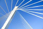 Modern Bridge Construction in Podgorica — Stock Photo