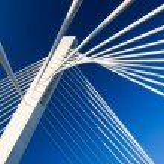Modern Bridge Construction — Stock Photo #1744882