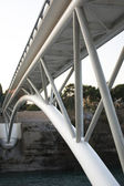 Modern Bridge Construction in Podgorica — Stock Photo