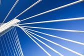 строительство современного моста — Стоковое фото