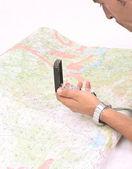 Cartography — Stock Photo