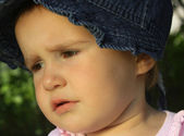 Child cry — Stock Photo