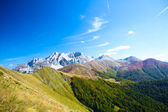Komovi Mountain Landscape in montenegro — Stock Photo