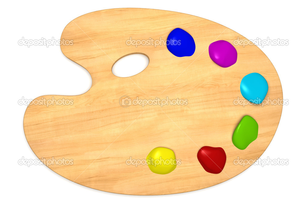 Как сделать палитру для красок
