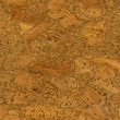 Stock Photo: High resolution cork texture