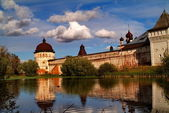 Borisoglebsky monastery — Stock Photo