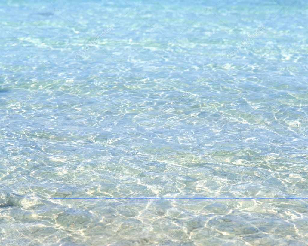Blue sea water background — Stock Photo #1816547
