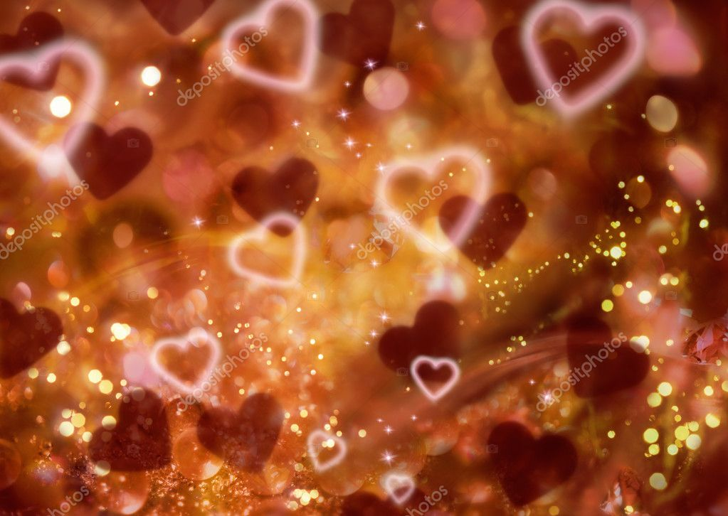 Abstract heart Background  Stock Photo #1817225