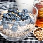 produtos de um alimento dietético, macro — Foto Stock