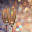 Glasses with champagne — Stock Photo #1948029