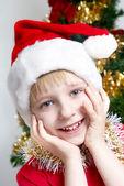 Portrait Small Santa Klaus — Stock Photo