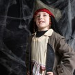 Stock Photo: Little boy wearing pirate costume