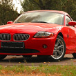 BMW Z4 concept sports car - Stock Photo