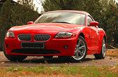 Bmw z4 koncepcja samochód sportowy — Zdjęcie stockowe