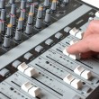 Stock Photo: Master studio of sound producer