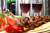 Shish kebab — Stock Photo
