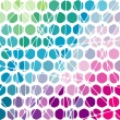 Abstract geometric mosaic background. - Stock Vector