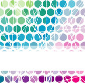 Abstract geometric mosaic background. — Stock Vector