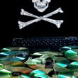 Royalty-Free Stock Photo: Software piracy