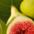 Stock Photo: Fresh fig