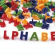 Stock Photo: Colored alphabet