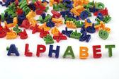 Colored alphabet — Stock Photo