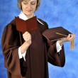 Graduate with diploma — Stock Photo #1930079