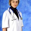 Stock Photo: Woman doctor portrait