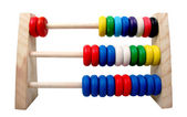 Isolated toy abacus — Stock Photo