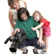 Interesting home video — Stock Photo