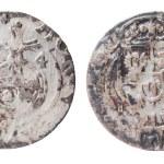 Apfelgroschen at 17th century — Stock Photo