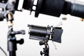 Professional cinema light — Stock Photo