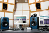 Audio studio — Stock Photo