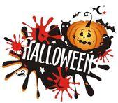 Halloween scary background — Stock Vector