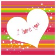 Royalty-Free Stock Vector Image: I love you.