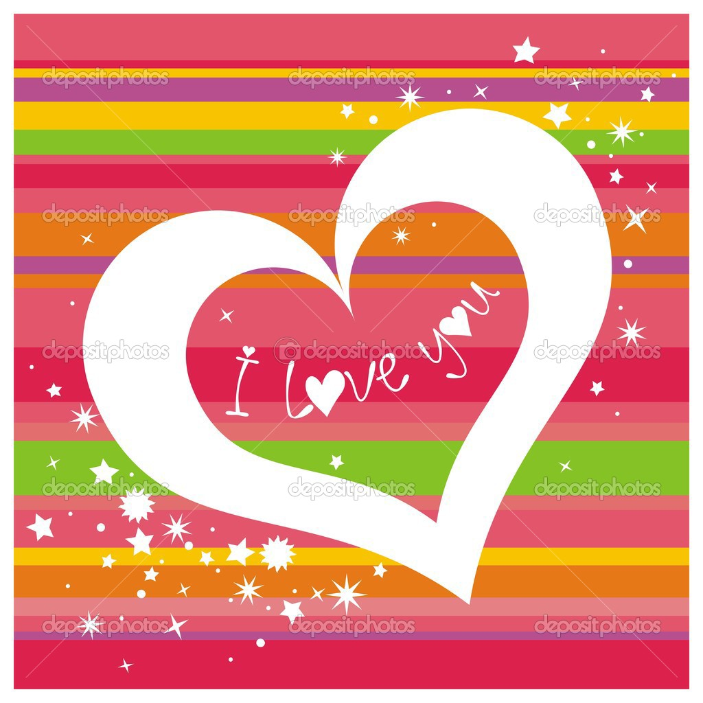I love you. Vector illustration.    #1797572