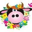 Royalty-Free Stock Vector Image: Cow
